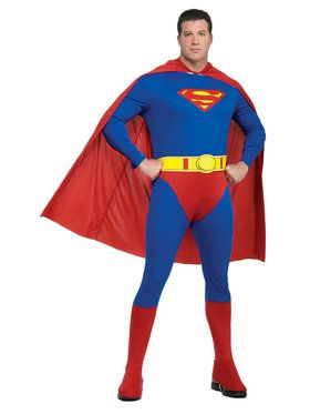 Superman Costume for Adults (Plus Size)