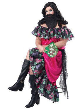 The Bearded Lady Adult Costume