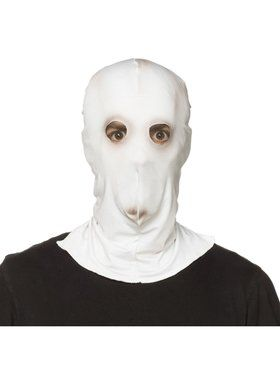 Adult Them' Creepy White Mask
