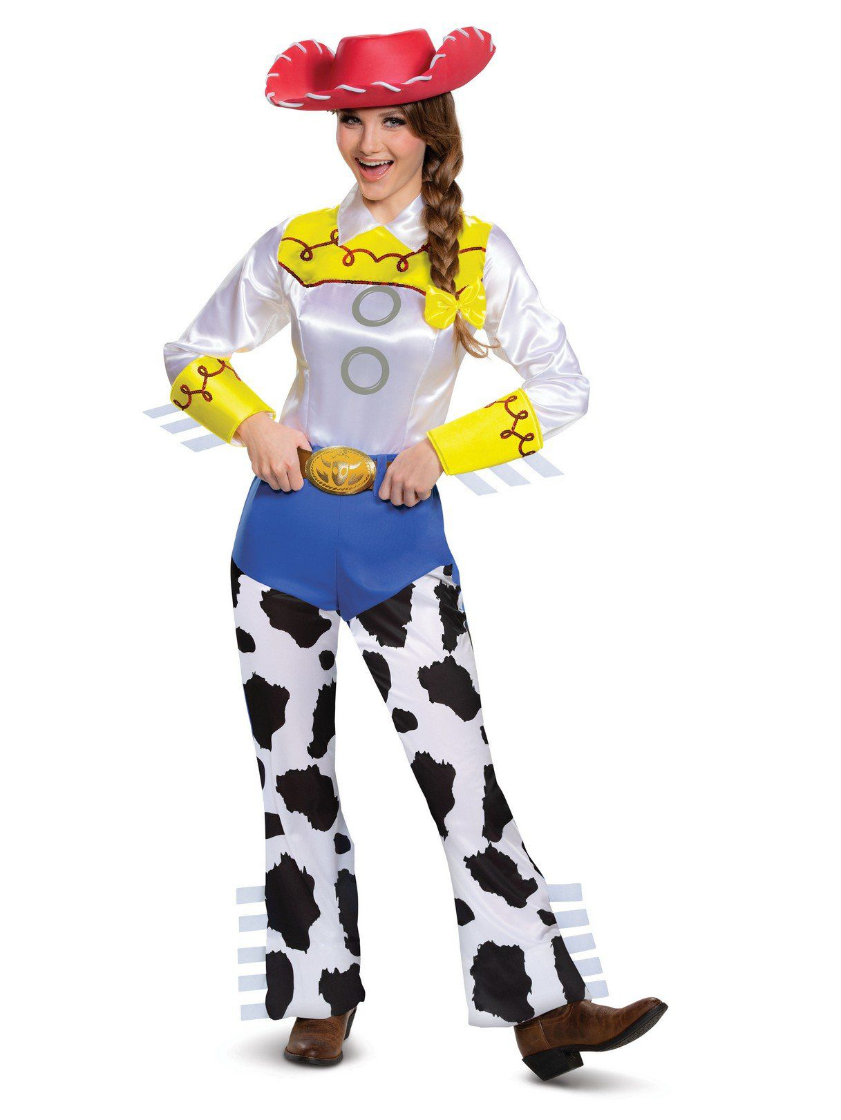 7406d8f5d55c7 Jessie Deluxe Adult Toy Story Costume - Adult 2018 Halloween ...