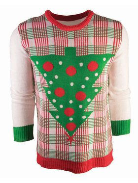 Adult Upside Down Tree Ugly Sweater