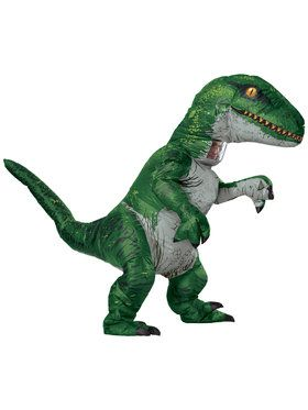 Inflatable Adult Velociraptor Costume