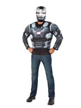 Adult War Machine Muscle Chesy Top and Mask