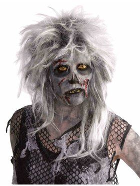 Wild Zombie Wig for Adults