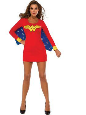 Adult Wonder Woman Winged Dress