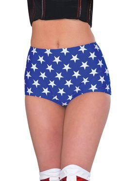 Wonder Woman Boy Shorts For Adults