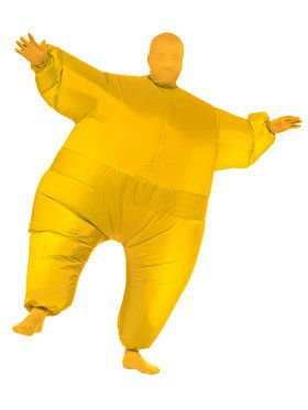 Yellow Inflatable Adult Jumpsuit