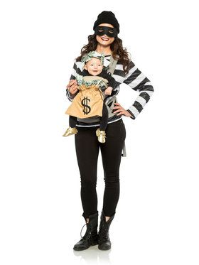 Robber and Money Bag Adult Costume