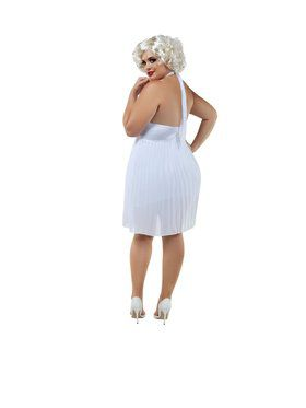 Adut Sassy Plus Blond Bombshell Costume