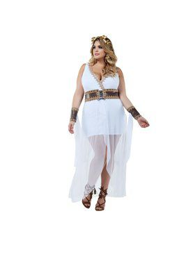 Adut Sassy Plus Golden Goddess Costume
