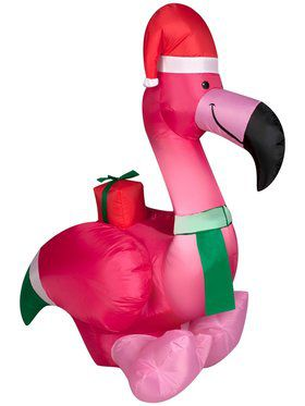 Airblown Outdoor Flamingo