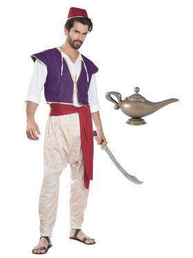 Aladdin Adult Costume Kit