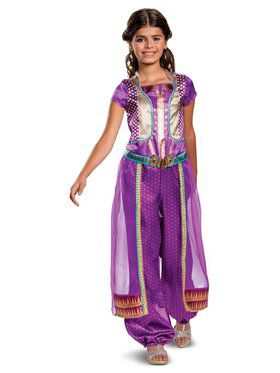 Aladdin Princess Jasmine Purple Classic Toddler Costume