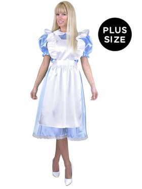 Alice Adult Plus Costume Plus