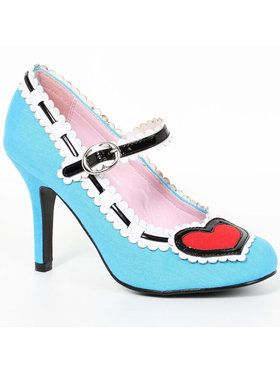 Alice Adult Blue Women's Heels