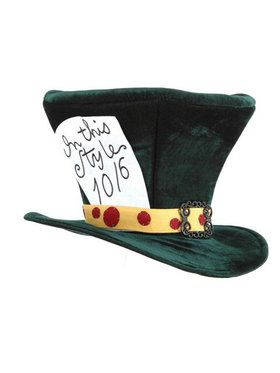 Alice In Wonderland Classic Mad Hatter