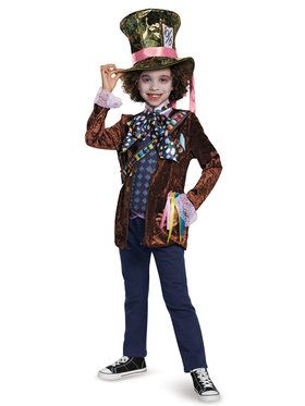 Boys Mad Hatter Alice Through The Looking Glass Costume