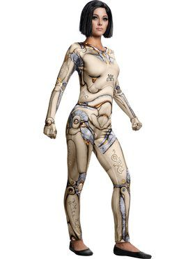 Alita: Battle Angel Sexy Alita Doll Body Costume