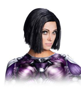 Alita: Battle Angel Wig