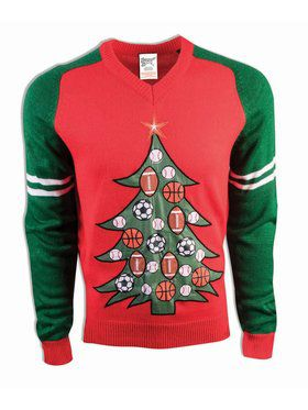 All Sports Christmas Sweater