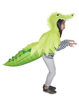 Alligator Hoodie with Inflatable Tail One-Size