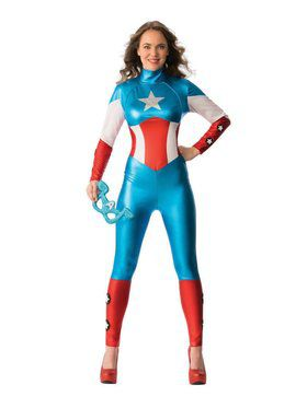 Female Captain America Costume Ideas