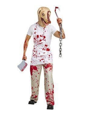 American Horror Story - Piggy Man Adult Costume