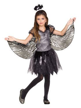 Angel of the Night Girl's Costume