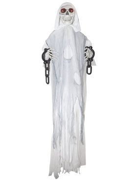 Animated Hanging White Reaper in Chains