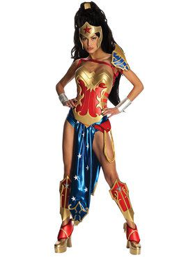 Anime - Wonder Woman Costume Adult X-Small