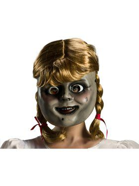 Annabelle 3 Annabelle Mask With Wig