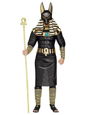 Anubis Adult Egyptian Costume Large (42-44)