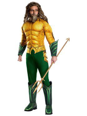 Deluxe Men's Aquaman Costume