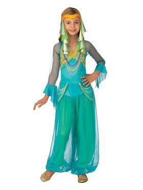 Arabian Dancer Girl's Costume