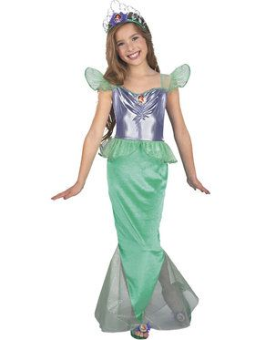 Little Mermaid Child Standard Ariel Costume