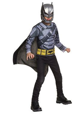 Armored Batman Deluxe Child Costume Top Set
