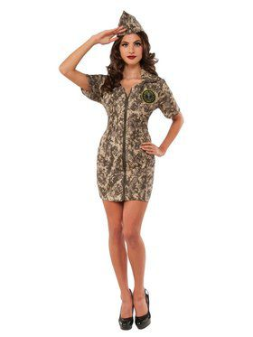 Army Woman Adult Costume