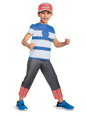 Ash Ketchum Alolan Classic Child Costume