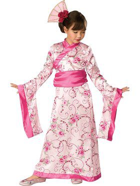 Asian Princess Toddler Costume