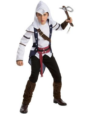 Teen's Classic Assassin's Creed Connor Costume