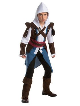 Teen's Assassin's Creed Edward Costume