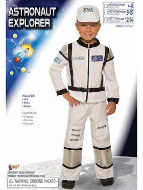 Astronaut Explorer Child Costume