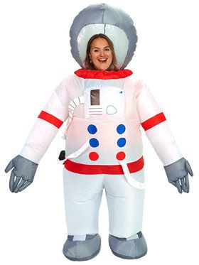 Astronaut Inflatable Adult Costume  sc 1 st  BuyCostumes.com & Space Alien and Astronaut Costumes - Adults and Kids Halloween ...