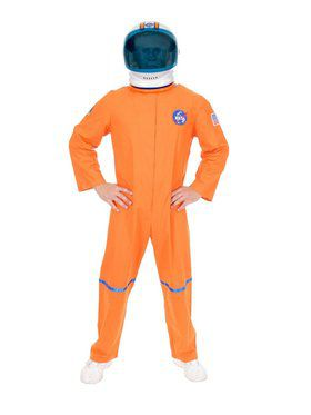 Astronaut Suit Adult Orange