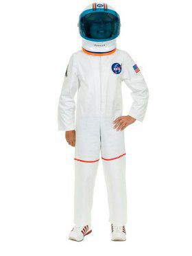 Astronaut Suit Boy's Child White