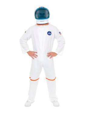 Astronaut Suit - Plus Adult White