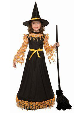 Autumn Witch Child Costume