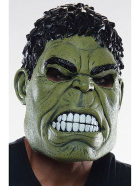 Avengers 2 Age of Ultron Hulk 3/4 Costume 2018 Halloween Masks