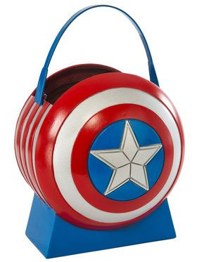 Avengers 2 Collapsible Captain America Shield Pail Accessory