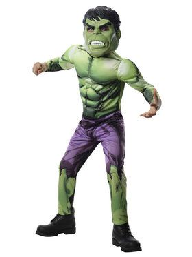 Avengers Assemble Deluxe Hulk Child Costume